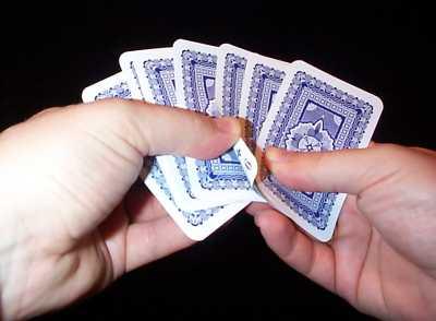 kartentricks 4 karten